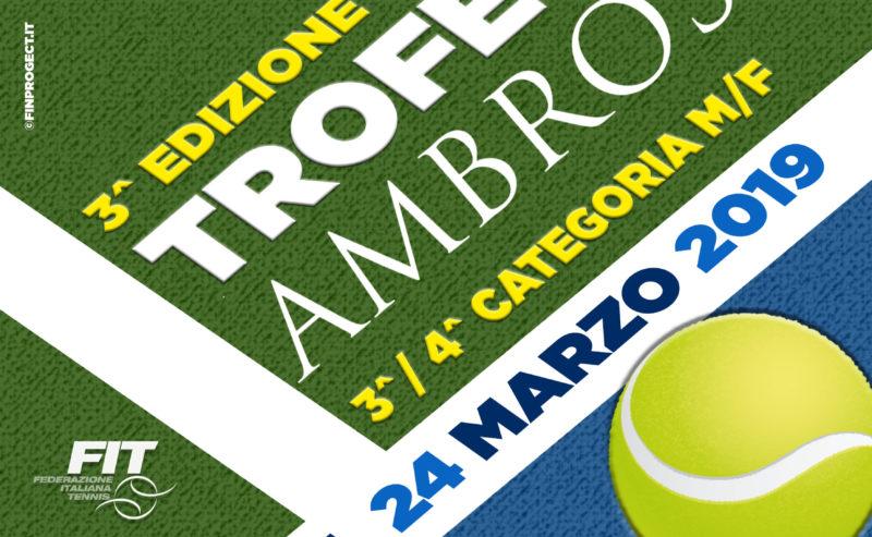 3^ Edizione Trofeo Ambrosio Tabelloni finali
