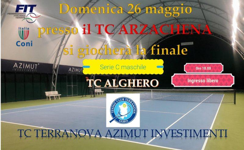 Domenica Finale Serie C ad Arzachena con la Tc Terranova
