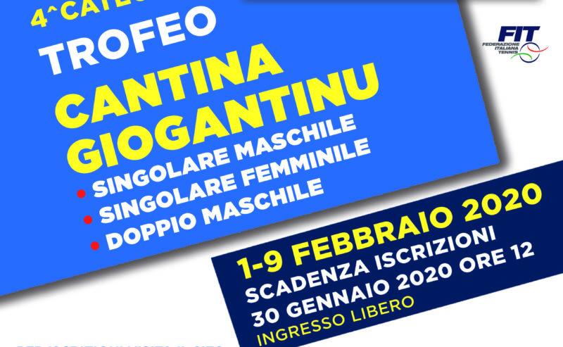 Torneo 4^ cat Maschile Femminile Cantina Giogantinu