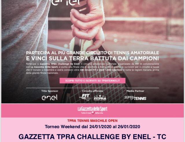 TPRA Challenge Enel Olbia