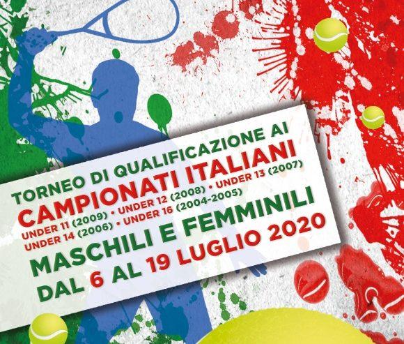 Campionati Italiani U11-U12-U13-U14-U16 M/F 2020