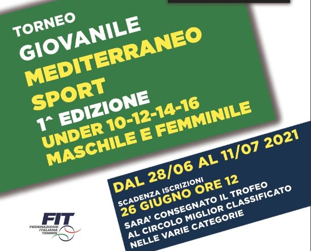 Torneo Giovanile – Trofeo Mediterraneo Sport 2021