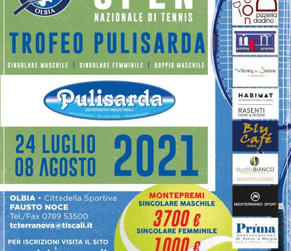 TORNEO DEL MARE 2021 OPEN NAZIONALE DI TENNIS M/F – TROFEO PULISARDA