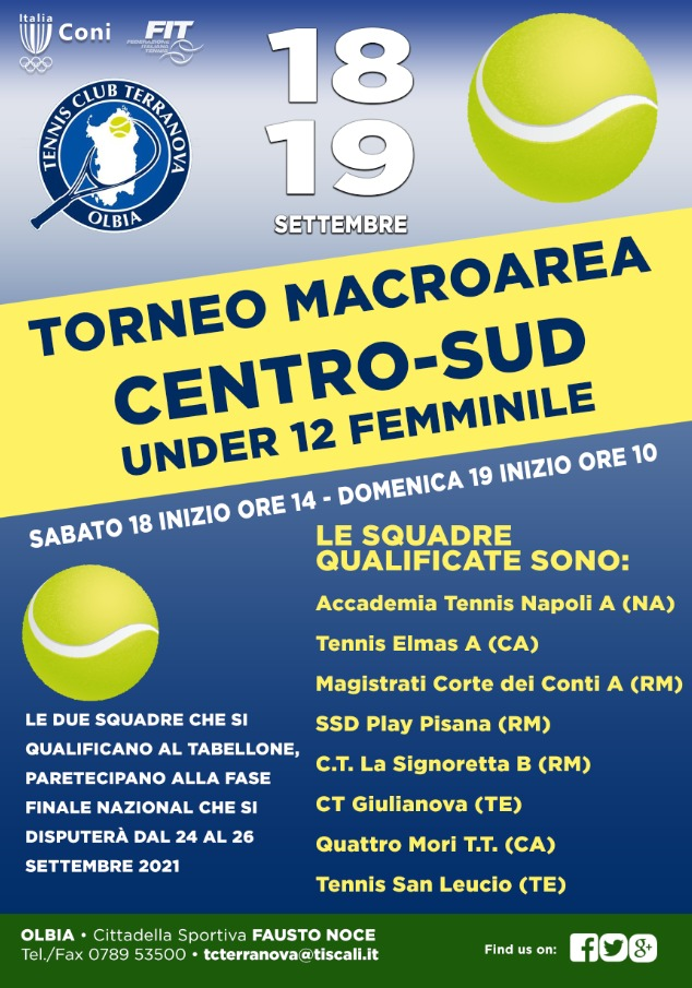 Torneo Macroarea Centro-Sud Under 12 Femminile